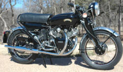 1955 Vincent Black Shadow Series D