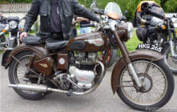 1953 Royal Enfield Super Meteor 700