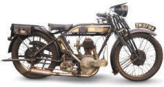 Vintage Norton Motorcycle
